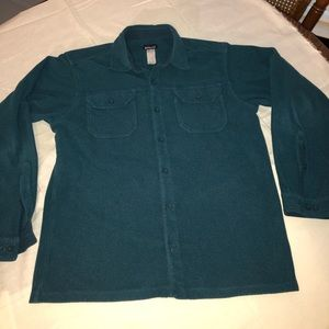 Patagonia Fjord Long Sleeve Flannel Shirt Mens Med